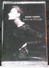 Sarah Masen Carry Us Through 10 track CASSETTE TAPE NEW