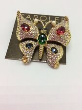 $95 Carolee Fly Away With Me Butterfly Pin