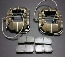 Brembo 4 Piston 30/34 mm  Rear Brake Calipers & New Pads  Nascar Racing Alcon AP