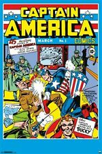CAPTAIN AMERICA - COMIC #1 POSTER - 24x36 - MARVEL 2214