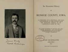 MONROE & APPANOOSE County Iowa IA, History and Genealogy Ancestry Family DVD B38