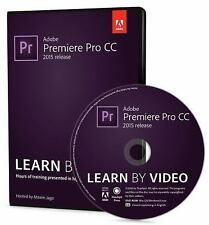 Adobe Premiere Pro CC Learn by Video by Maxim Jago (DVD-ROM) BRAND NEW