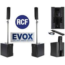 RCF EVOX-8 Two-Way Array System DEMO UNIT    AUTHORIZED DISTRIBUTOR!!!