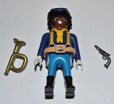36172 Buffalo Soldier, 9th/10th US cavalry ACW 1870 Corneta CUSTOM playmobil