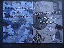 'Understanding German dog tags' & 'Men Behind The Militaria' books, 2 book offer