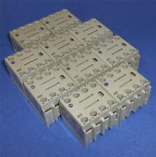 ALLEN BRADLEY 2NO + 2NC 10A AUXILIARY CONTACT 100-FA22 SER. A *LOT OF 10*