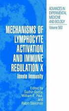 Advances in Experimental Medicine and Biology: Mechanisms of Lymphocyte...