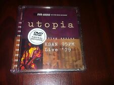 DVD AUDIO DISC BOOTLEG SERIES KSAN 95FM LIVE '79 BY UTOPIA WITH TODD RUNDGREN