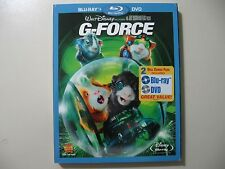 G-Force (Blu-ray/DVD, 2010, 2-Disc Set) Brand New and Sealed