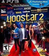 Yoostar 2: In the Movies (Sony PlayStation 3, 2011) Water Damaged Artwork