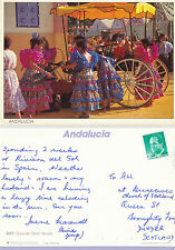 1990's FERIA DE ABRIL SEVILLA SPAIN COLOUR POSTCARD
