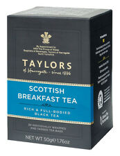 Taylors of Harrogate Scottish Breakfast Tea Bags - 20 Wrapped & Tagged Bags