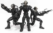 Art Asylum Star Trek Borg Assimilation Loose Action Figure Set of Three Borg