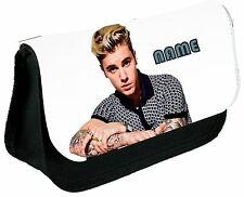 JUSTIN BEIBER #2 PERSONALISED PENCIL CASE