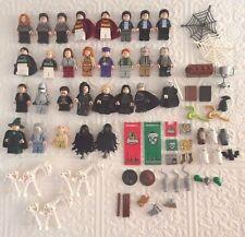 Original LEGO Minifigure HARRY POTTER Hogwarts Castle Bellatrix Weasley 4842 LOT