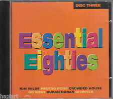 ESSENTIAL EIGHTIES Disc 3 - CD 1997, KIDS IN AMERICA, AND SHE WAS, FALL OF ROME