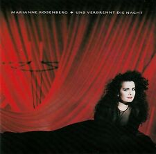 MARIANNE ROSENBERG : UNS VERBRENNT DIE NACHT / CD (BMG ARIOLA MÜNCHEN 1989)