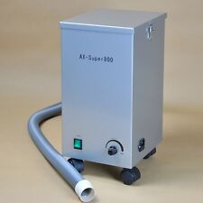 Dental Portable Low Noice Vacuum Dust Collector Dust Extractor 800W 172m³/h US