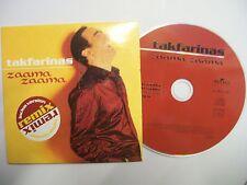 TAKFARINAS Zaama Zaama – 1999 French CD - Card Sleeve – Folk, Raï – RARE!