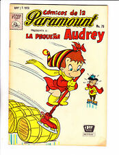 "Comicos De La Paramount No 79 1959 -Spanish Little Audrey- ""Ice Skate Cover !  """