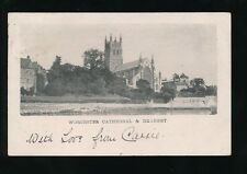 Worcestershire WORCESTER Cathedral and Deanery 1905 u/b PPC