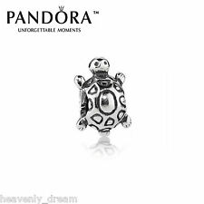 New Genuine Pandora Silver Turtle Charm 790158