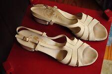 Vintage Amalfi Bone Sandals