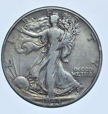 USA UNITED STATES, WALKING LIBERTY HALF DOLLAR, 1944 SILVER COIN GF-15
