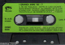MC=I GRANDI ANNI '60 - 7=Musicassetta=GREEN RECORD GRMC 6056=NO CUSTODIA