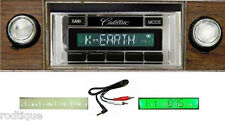 1980-1984 Cadillac Radio Custom Fit Stereo 230  NO Modifications Free Aux Cable