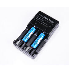 2 x 14500 3.7v 1200mah Ultrafire Rechargeable Li-ion Battery + AC Charger