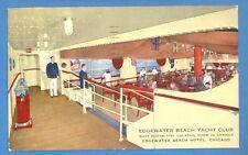 ILLINOIS - CHICAGO, EDGEWATER BEACH YACHT CLUB, EDGEWATER BEACH HOTEL PC 652