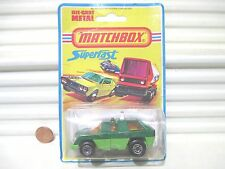 Lesney Matchbox 1975 MB59C Green Planet Scout Exc/NrMint in VeryGood Bubble Pack