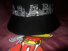 Billionaire Boys Club JETTY BLACK S06 7 5/8 Bucket Hat large BBC ICE CREAM Bape