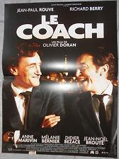 Affiche LE COACH Olivier Doran JEAN-PAUL ROUVE Richard Berry 40x60cm