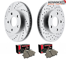 MERCEDES BENZ B200/T -Canada 2008 Brake Rotors+pads F+R