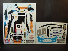 DECALS 1/24 FORD FIESTA RS WRC #15 OSTBERG  SUEDE 2012   - COLORADO  24140