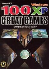 100 Great Games for Windows XP Small Box (PC, 2002)
