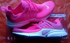 NEW IN BOX WOMEN'S NIKE AIR PRESTO HYPER PINK WHITE RUNNING SHOE'S SIZE 8
