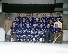 Team USA 1960 Olympic Hockey Gold Medal, 8x10 Color Photo