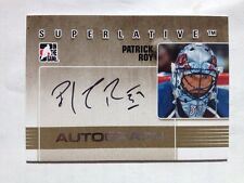 Patrick Roy cards (1 of 50) 07-08 #APR ITG Superlative Autographs Silver