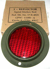 Jeep MB/GPW 1941-45, Reflector Red - Round - F Script - Guide A-2 - GPW13380