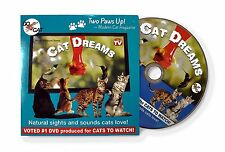 Cat Dreams DVD - Sights & sounds from nature that cats love! Made just for cats!