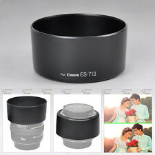 Black Plastic ES-71II ES-71 II Lens Hood For Canon EF 50mm F1.4 USM New