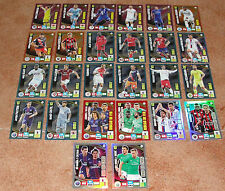 Adrenalyn 2016-2017 Ligue 1 lot of 26 different foil special insert cards NEW