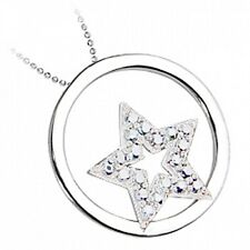 5 x Sterling Silver Star Pendant Necklace Job Lot Wholesale Jewellery UK SELLER