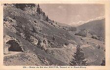 B38671 Route du Col des Aravis Tunnel et le Mont Blanc  france