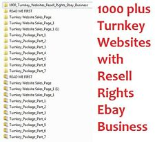 1000+ Turnkey Websites & 300+ PHP Scripts With Resell Rights - Online Business
