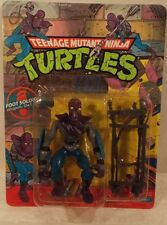 Teenage Mutant Ninja Turtles TMNT 1988/1990 Foot Soldier 44 Back Unpunched (MOC)