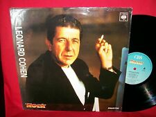 LEONARD COHEN rare PROMO only LP 1988 ITALY MINT-